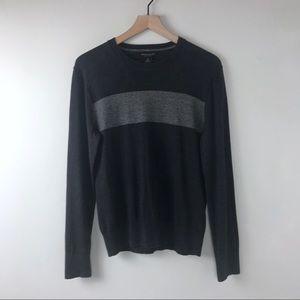Banana Republic men's grey sweater small